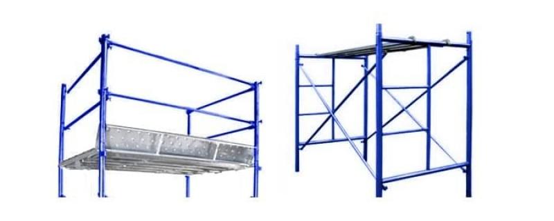 Aluguel de Andaime Tubular com Escada Centro - Andaime Tubular com Plataforma