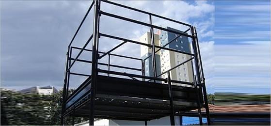 Aluguel de Andaime Tubular com Guarda Corpo em São João - Andaime Tubular com Plataforma