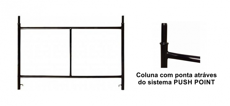 Andaime de Construção Civil Jardim Fortaleza - Andaime a Construção