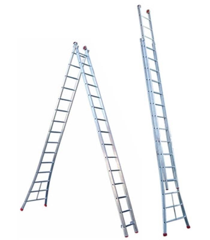 Escada Extensiva 7 Metros na Várzea do Palácio - Escada Extensiva de Fibra