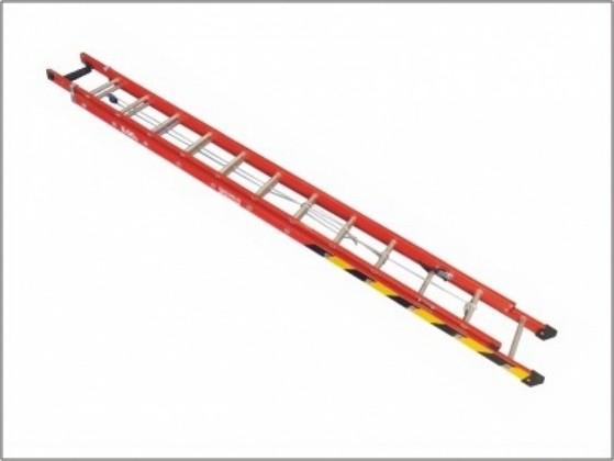 Locação de Escada Extensiva Alumínio 6 Metros na Anália Franco - Escada Extensiva de Alumínio 24 Degraus