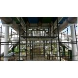 locação de andaime tubular conforme NR 18 Jardim Vila Galvão